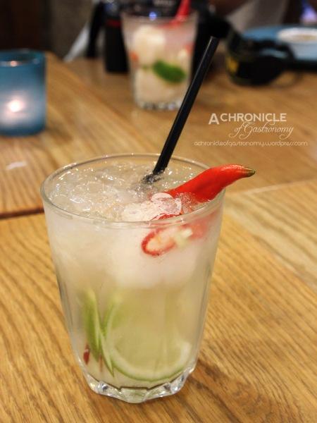Peaceful Dragon - Chilli, Lime, Lychee, Gin Cocktail