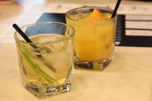 Ikkoryu Fukuoka Ramen Soft Launch (26) Apple Juice + Sake, Orange Juice + Sake