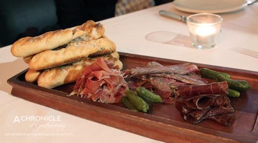 Charcuterie Board - Jamon, Wagyu Pastrami, Wagyu Bresaola