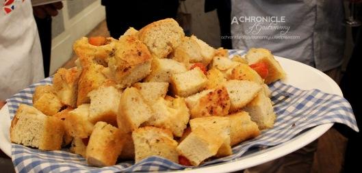 'Sharing Puglia' Book Launch (5) Tomato Foccacia