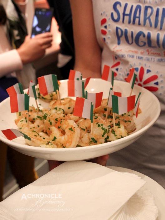 'Sharing Puglia' Book Launch (7) Herbed Prawns