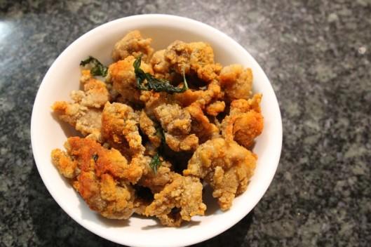 Gglow Popcorn Chicken $8