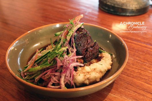 Koy - Slow-Cooked Beef Rib w. Turkish Spiced Glaze On Mash ($14)