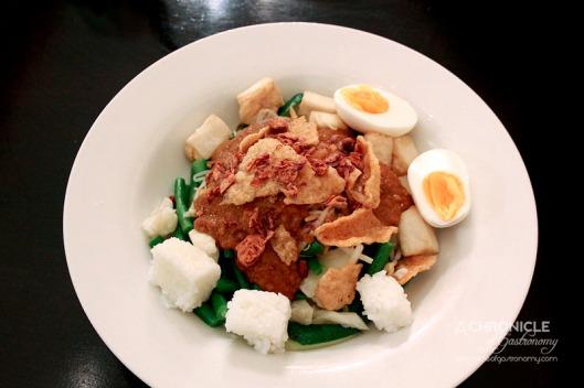 Masak Ku - Gado Gado - Lightly Blanched Vegetables, Fried Tofu, Soft-boiled Egg, House-made Satay Sauce ($14)