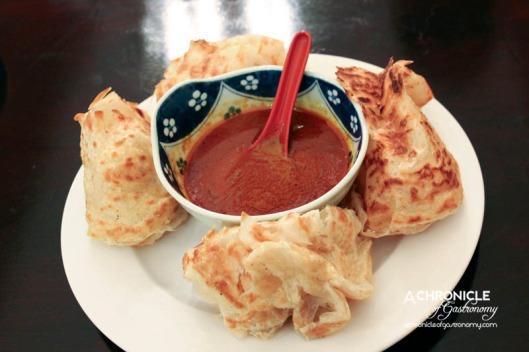 Masak Ku (54) Roti with Curry Sauce ($5.50)